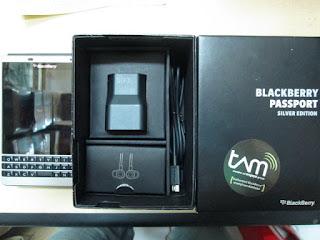 Blackberry Passport Seken Garansi TAM