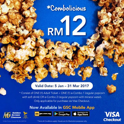 Golden Screen Cinemas Malaysia GSC Combo Deals
