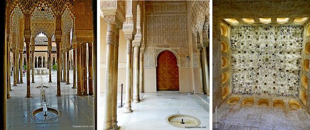 Alhambra, Granada, Palácio de los Leones