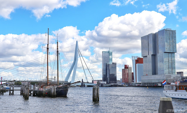 Rotterdam world port days skyline ships boats