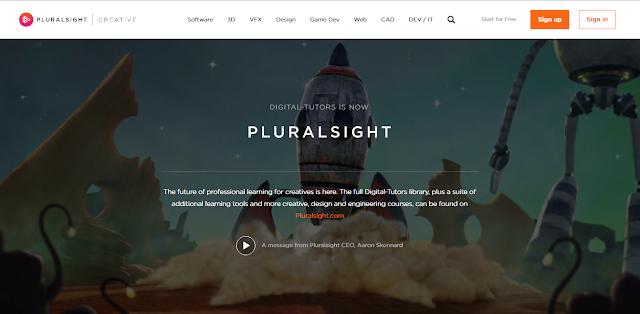 Puralsight توفر 4000 فيديو تعليمي مجانا عن التصميم والبرمجة