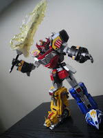 Super Robot Chogokin Daizyujin Megazord 11