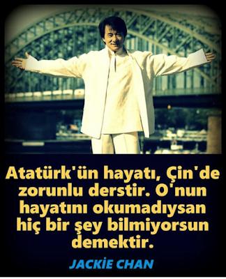 Türk, Türkiye, TC, Atatürk, zorunlu ders, Çin, Jackie Chan, bitirim ikili, smokin,  efsane, süper polis, altın yumruk, madalyon, kanlı hesaplaşma, şangay beşlisi, Atatürkün hayatı