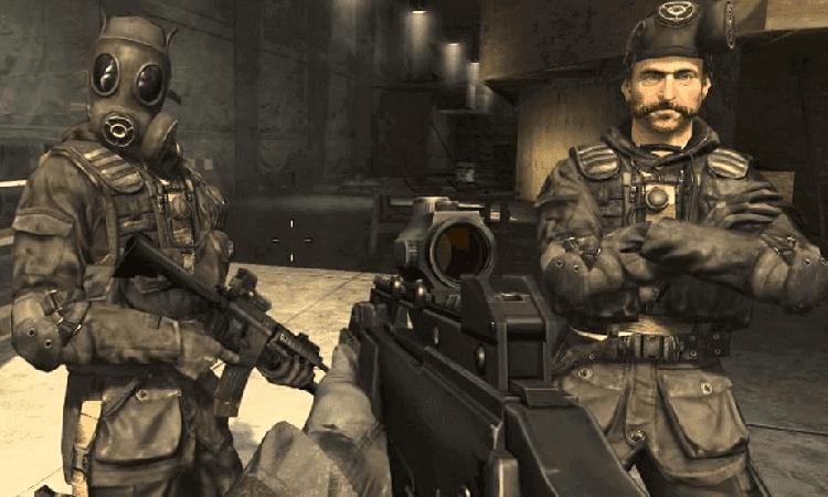 تحميل لعبة Call of Duty 4 للكمبيوتر برابط مباشر مجانا
