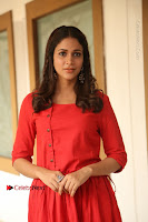 Actress Lavanya Tripathi Latest Pos in Red Dress at Radha Movie Success Meet .COM 0268.JPG