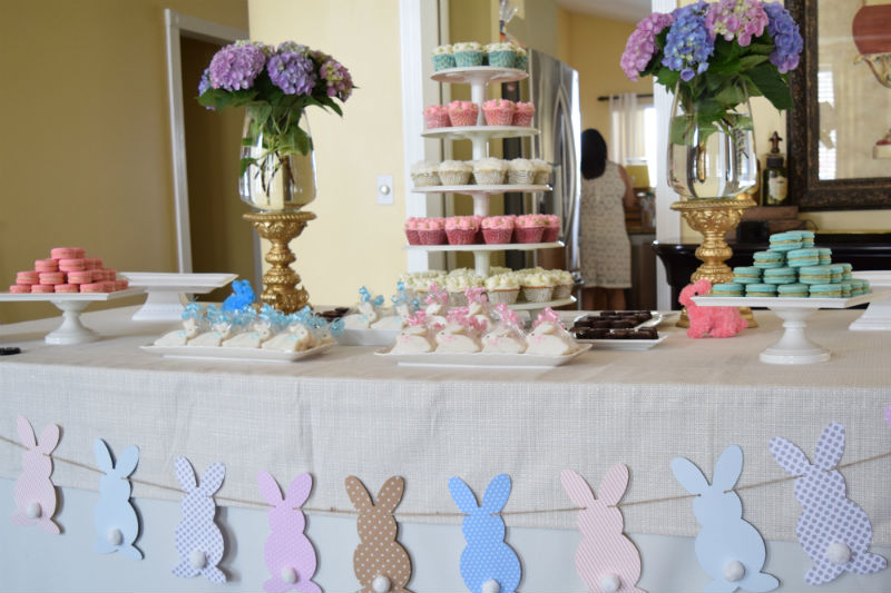 Gender Neutral Baby Sprinkle Dessert Table