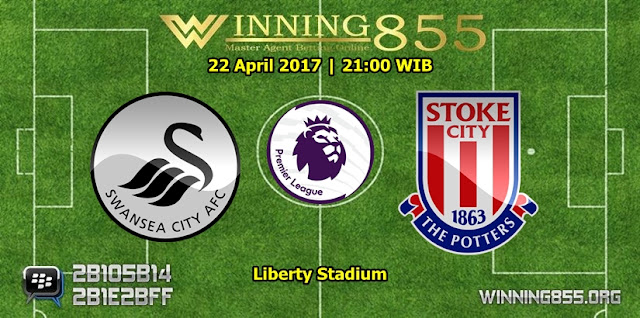 Prediksi Skor Swansea City vs Stoke City 22 April 2017