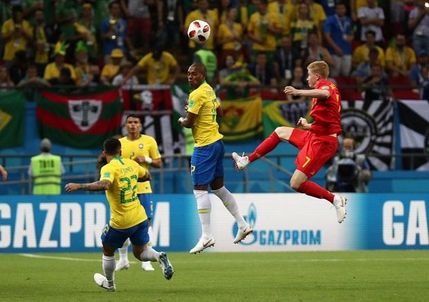 Mondial 2018: la Belgique élimine le Brésil de Neymar et se hisse en demi-finale