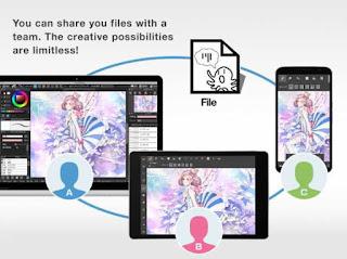 aplikasi paint, aplikasi desain di android, aplikasi art design
