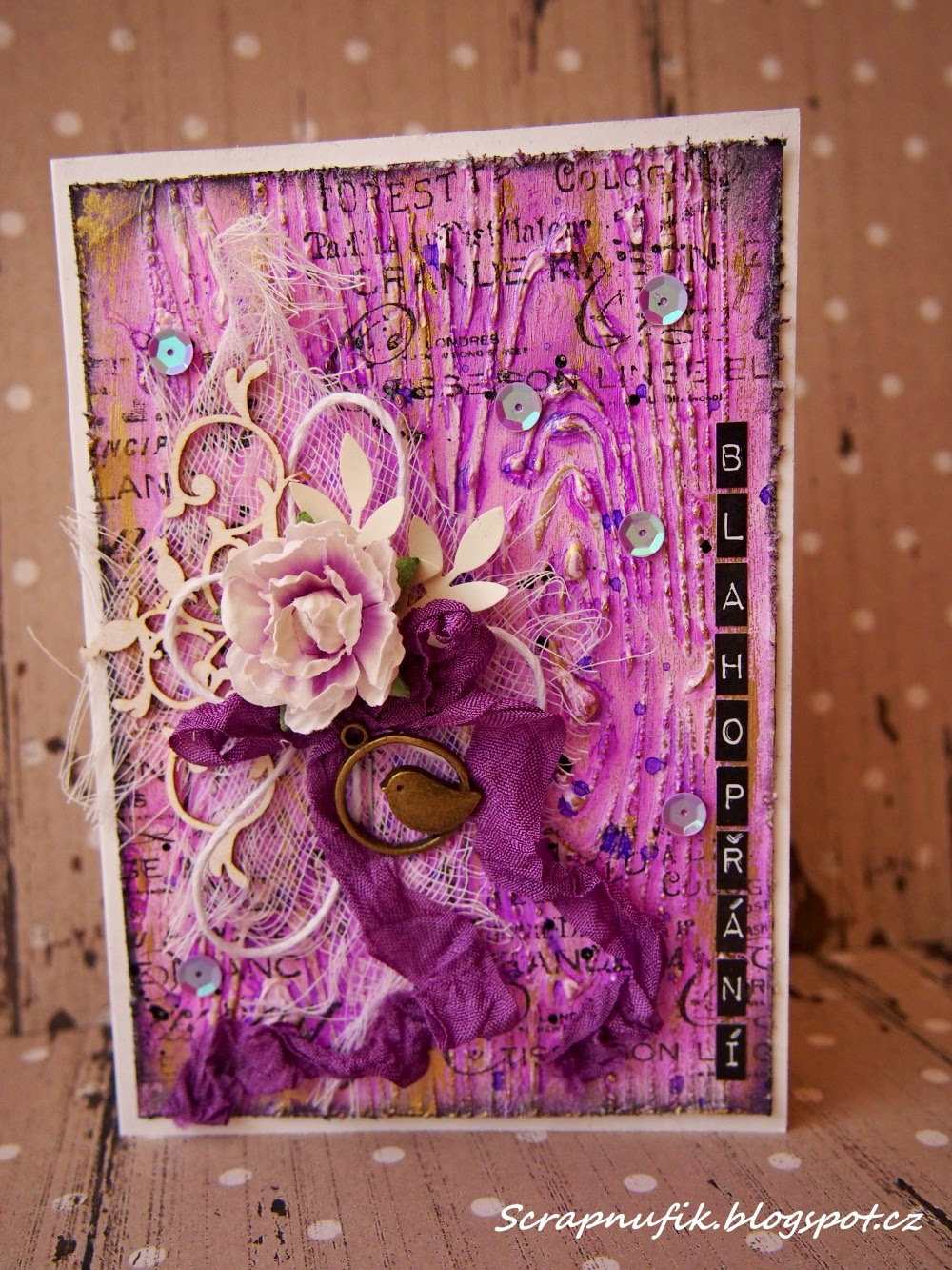 Mixed media... Twinkling H2O