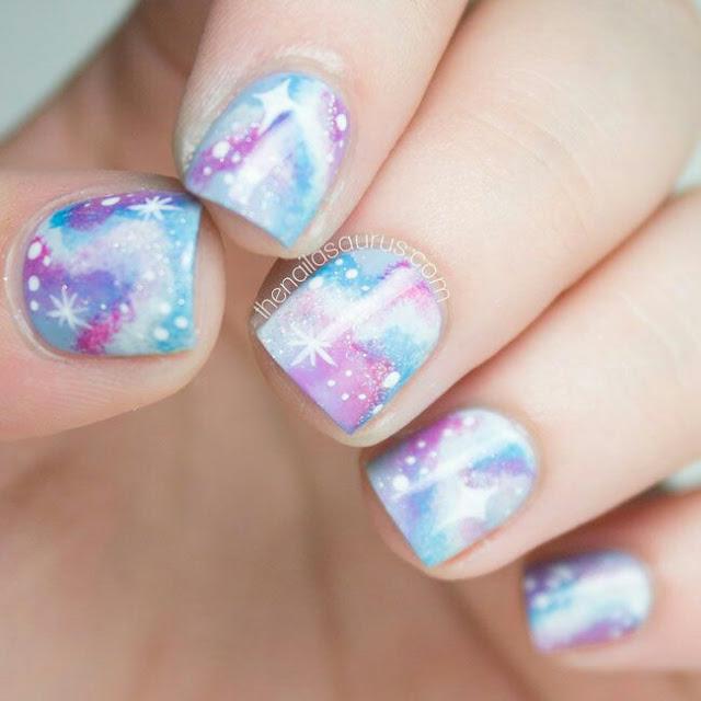 Glaxay nail art