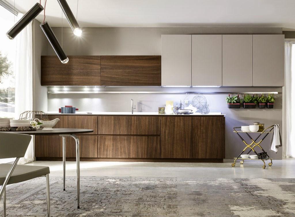 50 ideas de c mo combinar los colores en la cocina for Maderas para cocinas