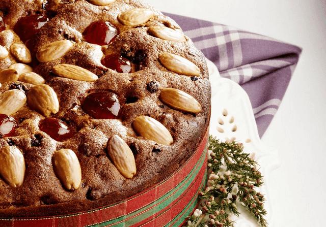 Traditional Scottish Dundee Cake
