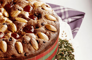 Traditional Scottish Dundee Cake