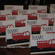 Firetruck Thank You Cards