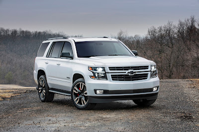 2018 Chevrolet Tahoe and Chevrolet Suburban RST Special Edition