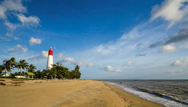 Pantai Tanjung Kelian, Pantai Bersejarah Di Pulau Bangka