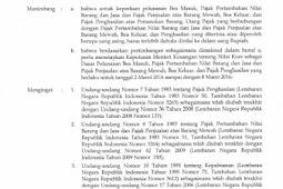 Kurs Pajak Periode 02 - 08 Maret 2016