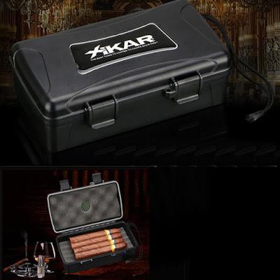 Mẫu hộp giữ ẩm cigar mini dành cho đi du lịch, công tác?