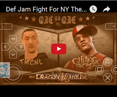 Def Jam Fight PPSSPP Emulator Android Gameplay Video