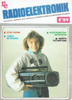 Okładka Radioelektronik 8/89