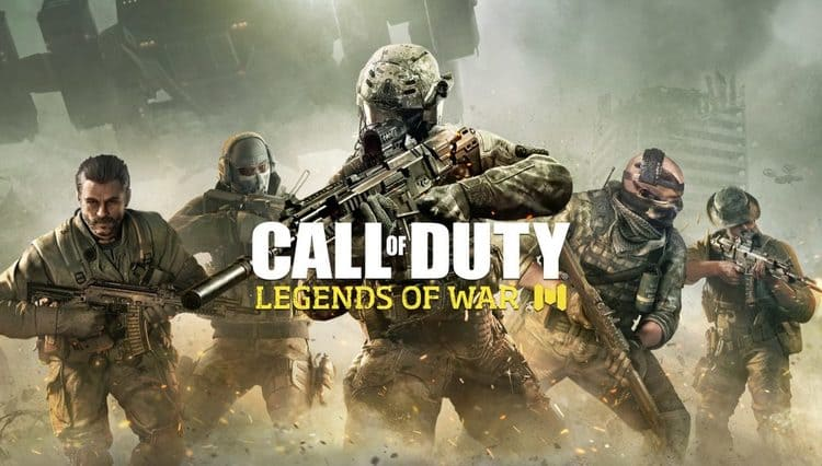 لعبة Call Of Duty Legends Of War mobile game للموبايل