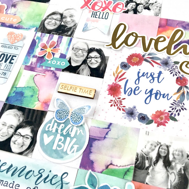 Angela Tombari Scrapbooking Layout Il Mio Nazione per Yuppla Craft DT