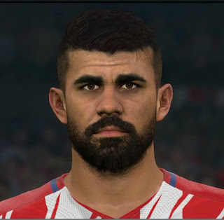 PES 2017 Faces Diego Costa by Sameh Momen