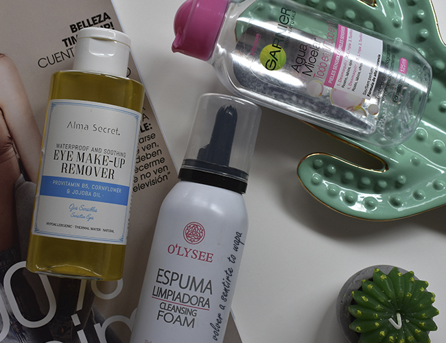 Limpieza Facial: Alma Secret, Garnier y Mercadona