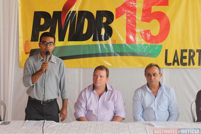 Joais Santos, Dr. Neidson, Laerte Queiroz, PMDB, 15, Rondônia