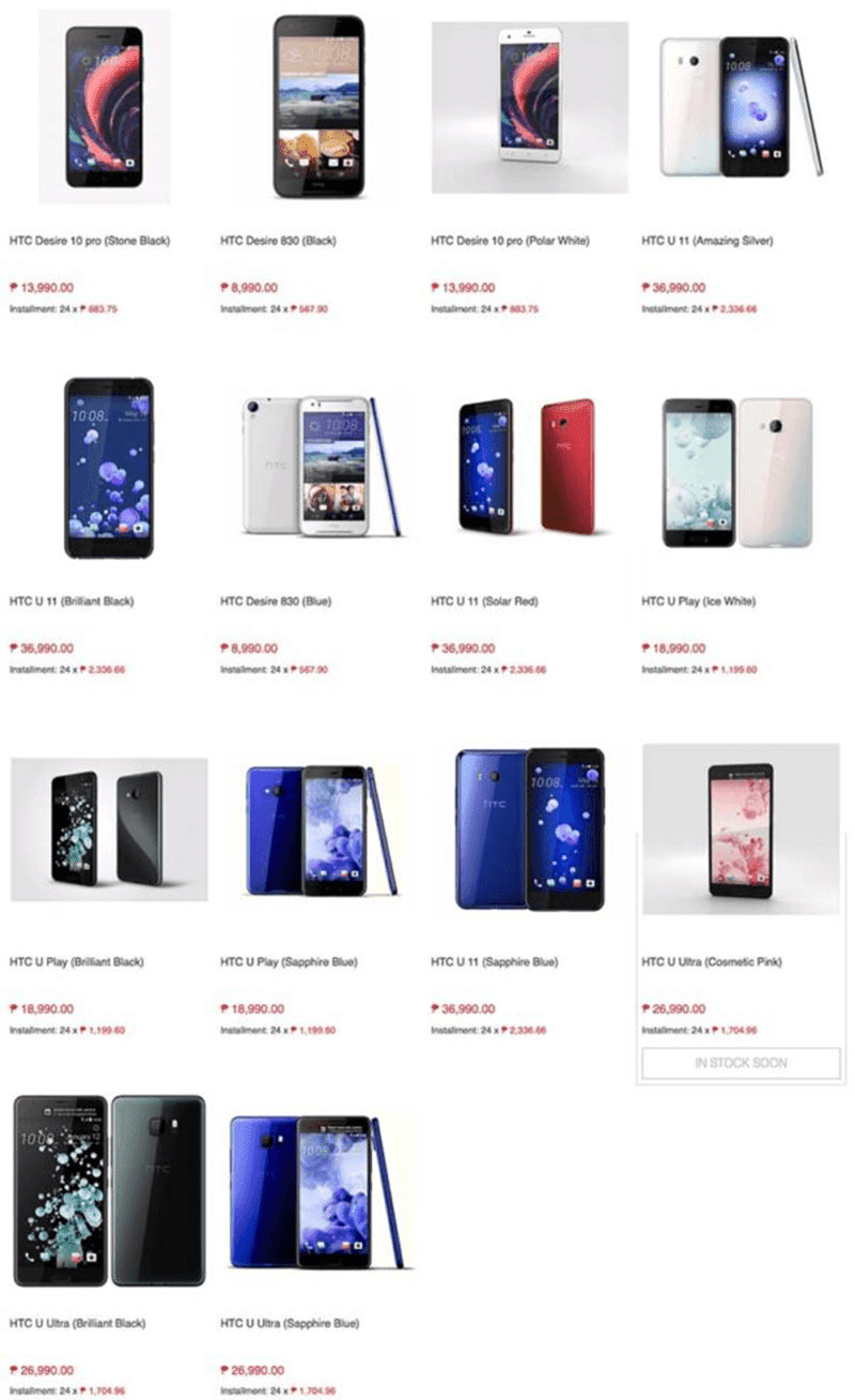 HTC Smartphones Will Be Available At Lazada Philippines Soon?