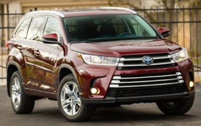 2017 Toyota Highlander Hybrid Le V6 Awd_2017 Electric Cars