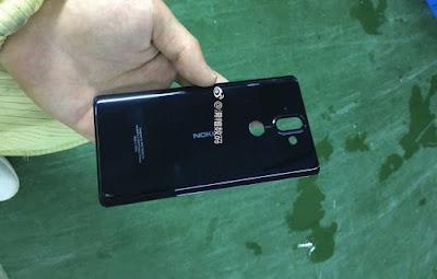Nokia 9 leaked back panel