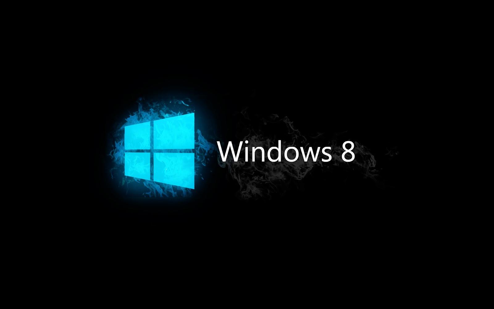 Papel De Parede Windows 8 Preto Neon