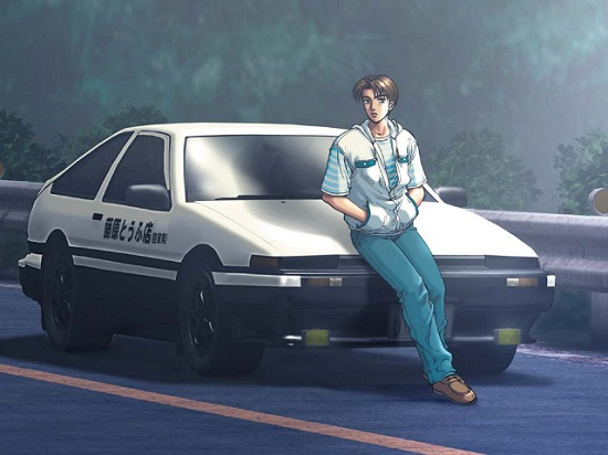Initial D All Series Subtitle Indonesia