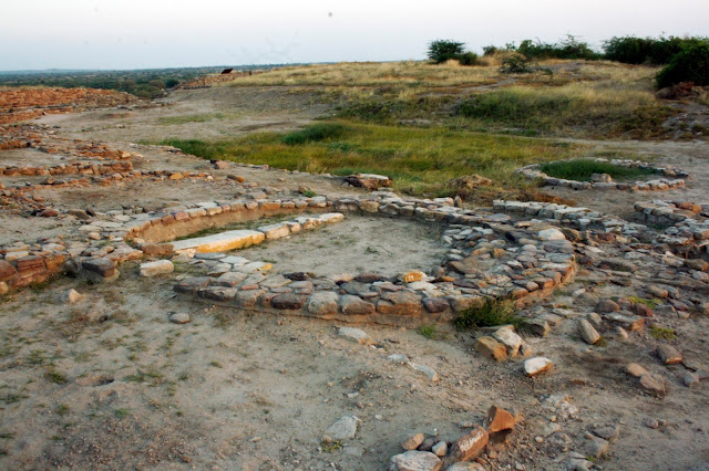 Dholavira, Stone, Indus, preservation, archaeology, excavation, grid, structure, home, circle