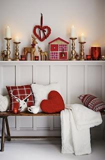 Navidad color rojo