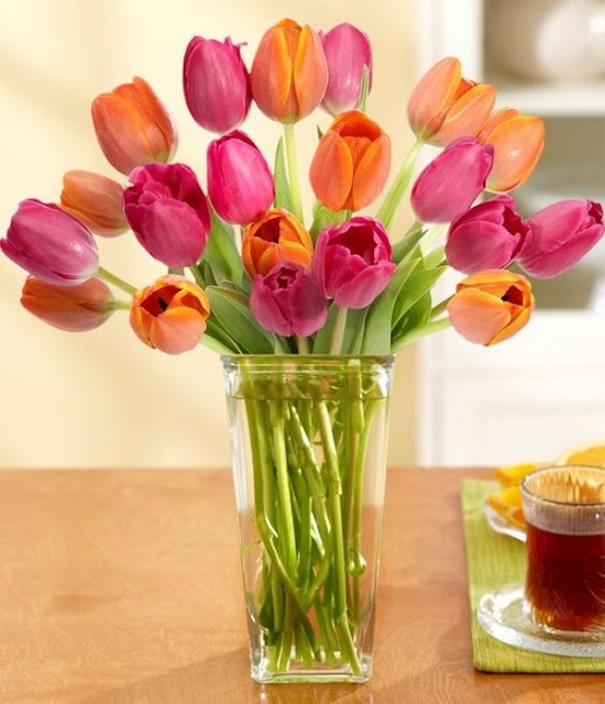 Floral Arrangements With Tulips 5