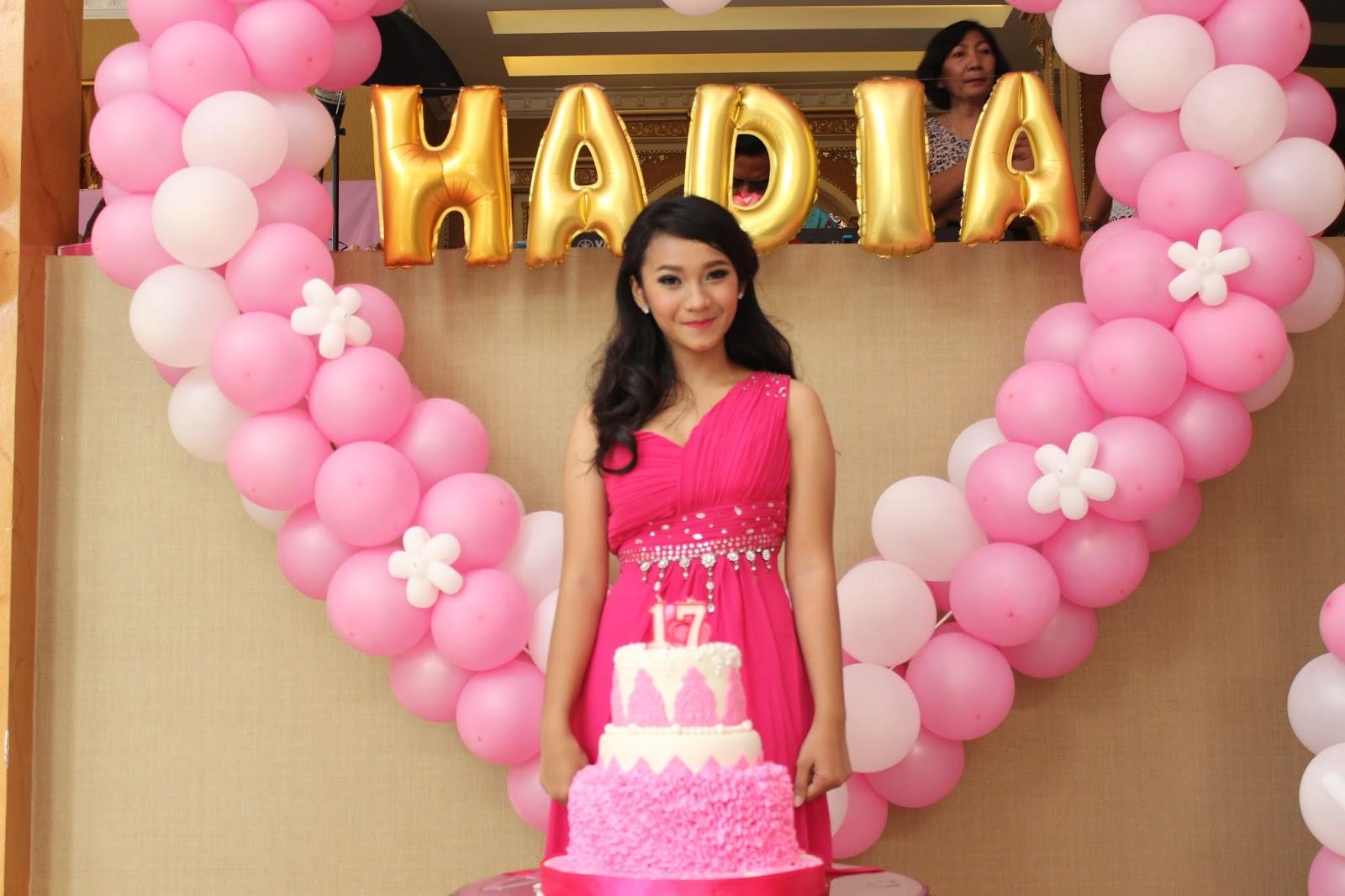 Ulang Tahun Ke 17 Nadia Cindy Exo Entertainment Pesta ulang tahun ke 17