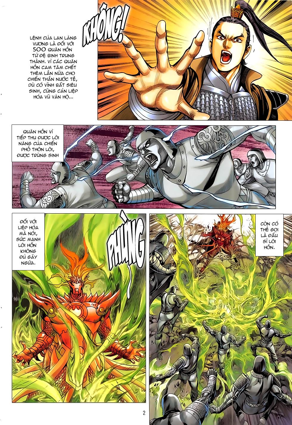 Chiến Phổ chapter 17: chiến thần phẫn nộ trang 2
