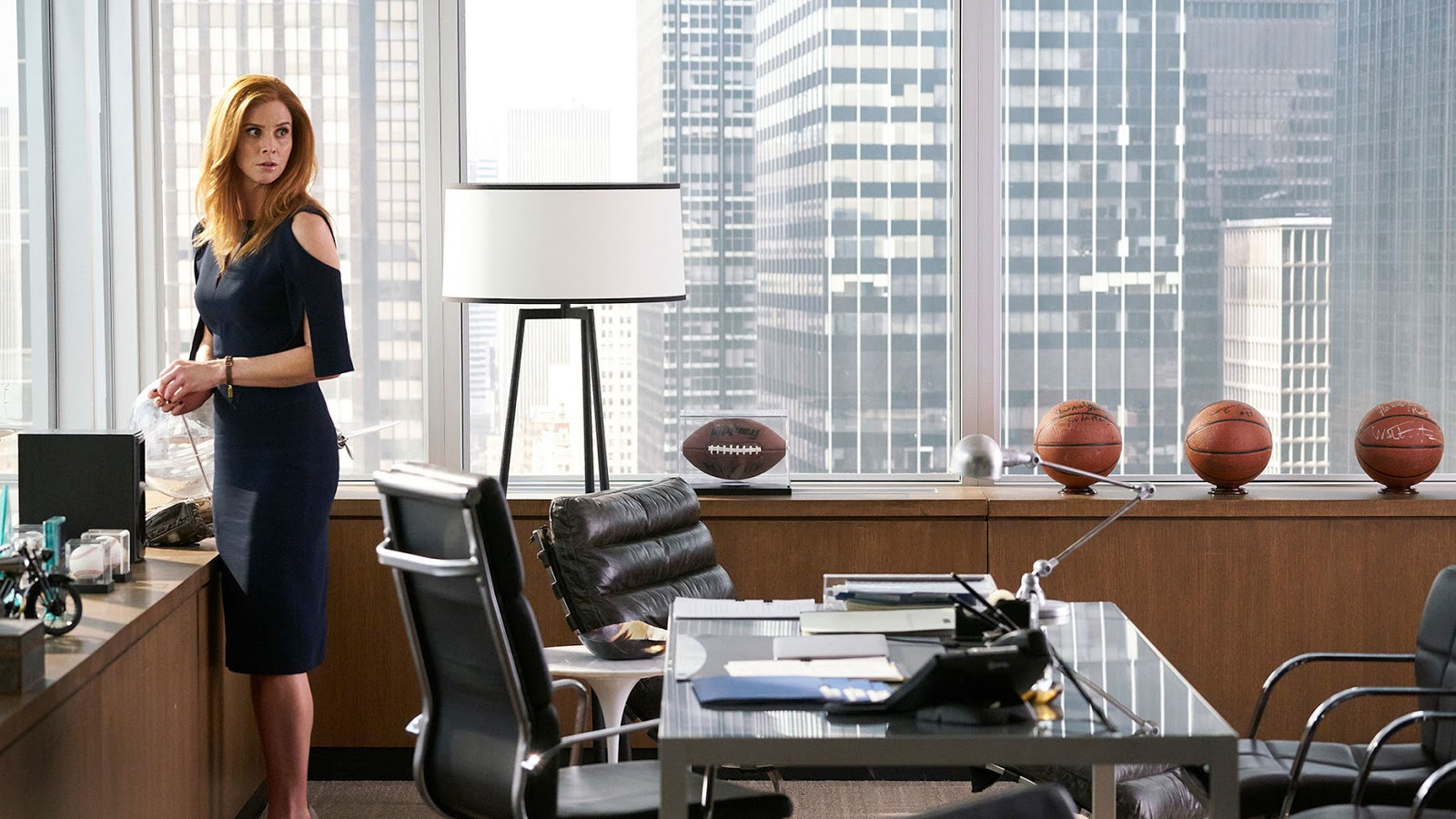 Donna en la temporada siete de Suits