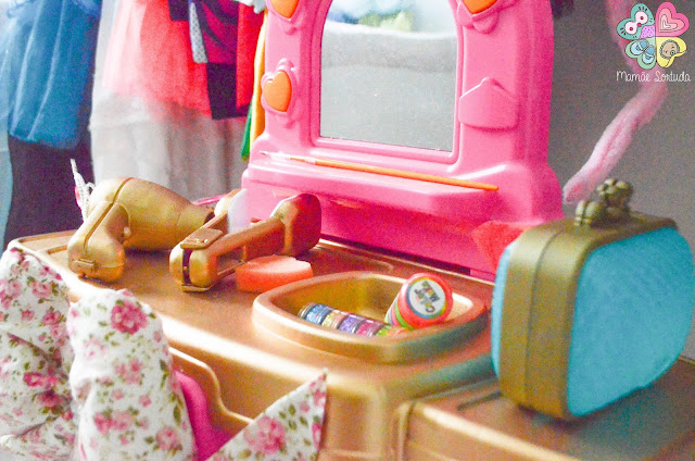 Canal Mamãe Sortuda: brinquedo de cara nova, penteadeira!