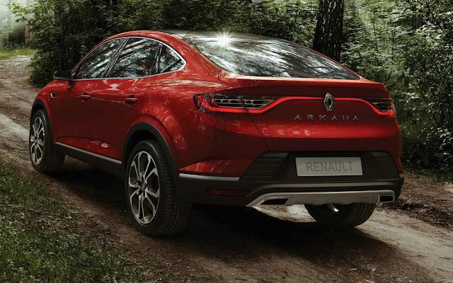 Novo Renault Arkana 2020