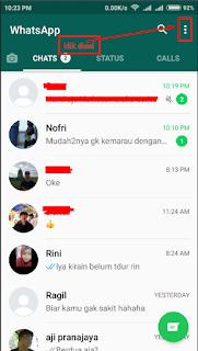 Cara Mengatur Privacy di Whatsapp Untuk Mengatur siapa saja Yang boleh Melihat Pesan Status Kita