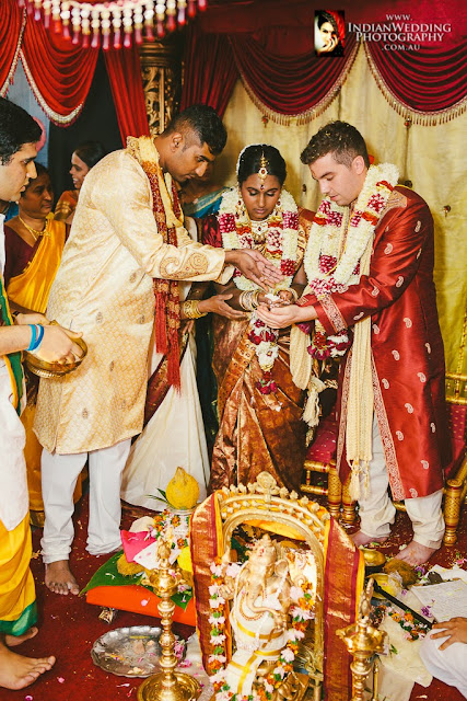 Traditional Hindu Wedding At Vishnu Shiva Temple In Mawson -9066