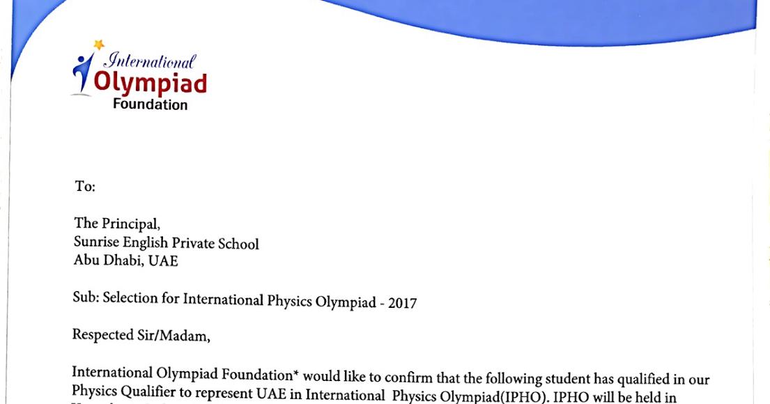 SUNRISE ENGLISH PRIVATE SCHOOL, ABU DHABI CIRCULARS 2015 – 2016