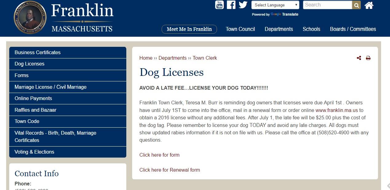 Online Service Dog Training Log