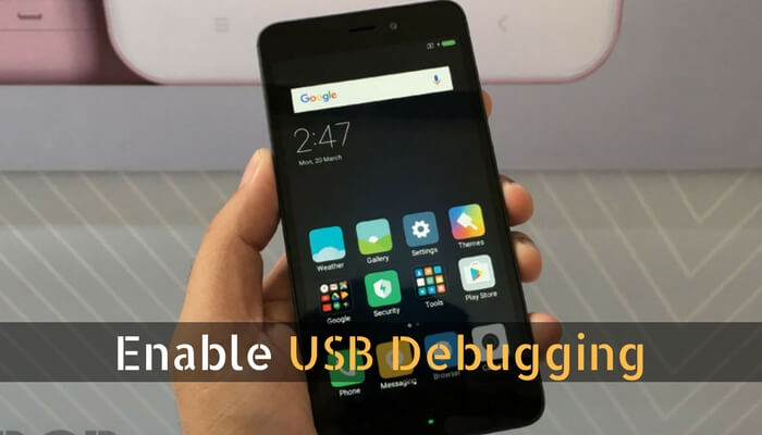 How To Enable USB Debugging on Xioami Phones