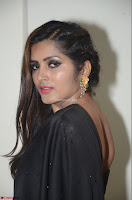 Pavani Reddy in Black Saree Sleeveless Choli ~  Exclusive 25.JPG