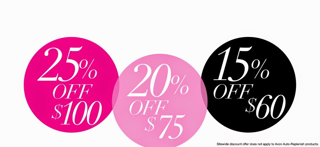 Avon Discount Code - February 2015